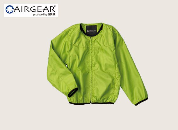 AR12141 AIRGEAR® キッズ ノーカラーブルゾン空調服™の写真